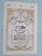 1830 - 1980 / 150 Jaar België ( 75 F ) Stamp 31-5-1980 Brussel ( Zie/voir Foto Voor/pour Détails ) !! - Blocs 1962-....