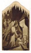 IMAGE PIEUSE HOLY CARD SANTINI CHROMO HEILIG PRENTJE : La Crêche - Imágenes Religiosas