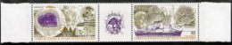 Fr Southern Antartic,  Scott 2017 # C116a,  Issued 1991,  Strip Of 12 + Label,  MNH),  Cat $ 10.00,  Climate