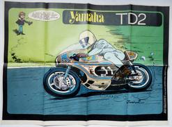 POSTER SPIROU 1797 1972 - YAMAHA TD2 - JIDEHEM MOTO - Other