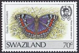 1992 - Gaudy Commodore (Precis Octavia Ssp. Sesamus) - Yt:SZ 609 - MNH - Swaziland (1968-...)