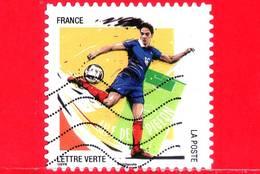 FRANCIA - Usato - 2016 - Calcio - 10 Gesti Preferiti - Piccione - Aile De Pigeon - 20 G - France