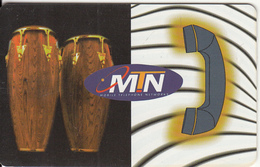 SOUTH AFRICA - African Talk, MTN Telecard, Chip SO3, Used
