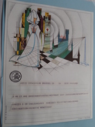 TELEGRAM Continuation - Verzonden 1973 Voor Broeckaert Deurne Antwerpen / Belgique - Belgium !! - Faire-part