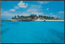 °°° 3772 - MALDIVES - THUDUFUSHI ISLAND REPORT - 1993 With Stamps °°° - Maldive