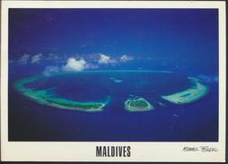 °°° 3774 - MALDIVES - KURAMATHI RASDU ATOLL - With Stamps °°° - Maldive