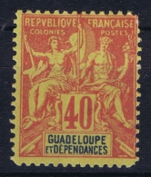 Guadeloupe  Yv  36  Neuf Sans Charniere /MNH/**/postfrisch  1892 - Ungebraucht