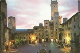566-San Giminiano (Siena) - Piazza Della Cisterna - Scandicci