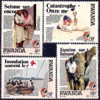 Rwanda 1988 Red Cross Medical Health Nursing Disaster/Flood/Earthquake/Hunger NH - Plants