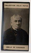 Collection Felix Potin - 1898 - REAL PHOTO - Emile De Girardin, Homme De Lettres - Félix Potin