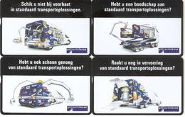 Netherlands-Autolease Set Of 4 Cards,unused