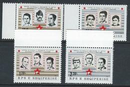 Albania 1984 Mi2211/14 MNH National Heroes Set - Albania