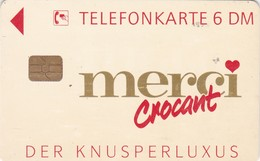 Germany, O 2399-11/94, Card Number 586, Merci 8 – Crocant. Only 3000 Issued, 2 Scans.
