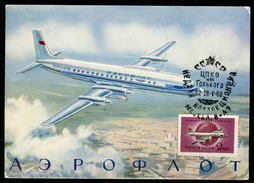 U.R.S.S. - Carte Maximum 1960 - Avion - Maximumkarten