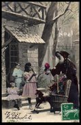 Fête Noêl - Jeux Jouets - Enfants Et Père Noël - Jeux Et Jouets