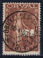 Belgium: OBP Nr  261 A Used Obl Perfo  MOUWSTREPEN 1929 - Usati