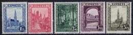 Belgium: OBP Nr 292C - 292G  MNH/**/postfrisch/ Neuf Sans Charniere 1929 - Neufs