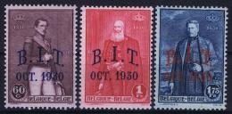 Belgium: OBP Nr 305 - 307  MNH/**/postfrisch/ Neuf Sans Charniere 1930 - Belgique