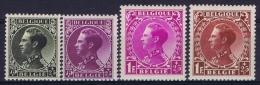 Belgium: OBP Nr 390 - 393  MNH/**/postfrisch/ Neuf Sans Charniere 1934 - Belgique