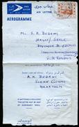 SUDAN Air Letter #F3 Properly Used Khartoum To East Germany 1960 - Sudan (1954-...)