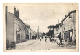 B 1355 FAULQUEMONT  RUE DE METZ - Faulquemont