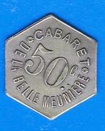 JETONS - PARIS, Au Pied Du Trocadéro Pendant La Durée De L'exposition Universelle De 1911, 50c. (6 Faces) - Monetari / Di Necessità
