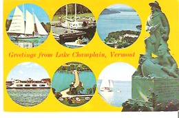 Greetings From Lake Champlain, Vermont - United States