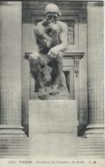 """Paris - Pantheon  """"Le Penseur"""" De Rodin.   S-3355 - Sculpturen"""