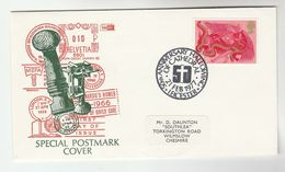 1977 GB Stamps EVENT COVER HALLOWING Of LEICESTER CATHEDRAL Church Religion - Christianity