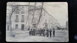 CPA D66 St Laurent De La Salanque Place Arago