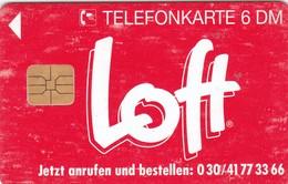 Germany, O 0220-08/93, Card Number 594, Loft - Mit Loft Und Laune, Only 5000, 2 Scans.