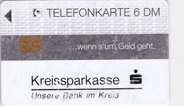 Germany, O 0585-12/93, Card Number 595, Sparkasse - Eine Starke Verbindung (Zudruck-Karte), 2 Scans.