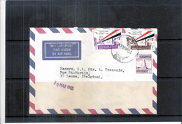 Cover From Iraq To Belgium - 1964 (to See) - Iraq
