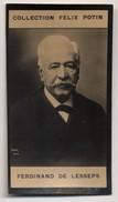 Collection Felix Potin - 1898 - REAL PHOTO - Ferdinand Marie, Vicomte De Lesseps, Le Canal De Suez - Félix Potin