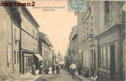 SAINT-MARTIN-EN-HAUT GRANDE RUE ANIMEE 69 RHONE - France