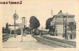 L'ARBRESLE INTERIEUR DE LA GARE TRAIN 69 RHONE - L'Arbresle