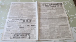 LEFEBURE-WELY - ORGANISTE DE SAINT-ROCH - GRAND CONCERT VOCAL ET INSTRUMENTAL - PROGRAMME - TOULOUSE  1845. - Afiches