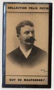 Collection Felix Potin - 1898 - REAL PHOTO - Guy De Maupassant, Homme De Lettre - Félix Potin