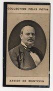 Collection Felix Potin - 1898 - REAL PHOTO - Xavier De Montépin, Homme De Lettres - Félix Potin