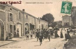 PASSAVANT LA GRANDE RUE TRES ANIMEE 70 - Frankrijk