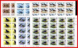 $$ Wholesale $$ Barbuda 1976 BIRDS SC#238-243 MNH WHOLESALE X25 SETS  Folded - Antigua En Barbuda (1981-...)