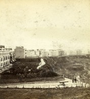 Royaume Uni Yorkshire Scarborough Crown Terrasse North Cliff Anciennne Photo Stereo Latham 1865