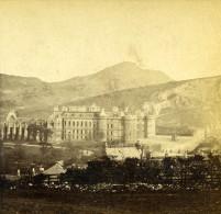 Royaume Uni Ecosse Edimbourg Holyrood Palace Et Abbaye Anciennne Photo Stereo 1865