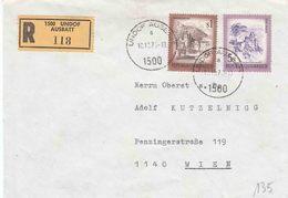"""UNO : Reco Bf Met PZ (Oost) """"UNDOF AUSBATT / A /10.10.75 / 1500"""" Met Geel RECO Etiket """" 1500 UNDOF / AUSBATT"""" - Austria"""