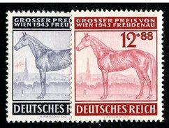 LOTE 1264  ///  (C025) ALEMANIA IMPERIO 1943  MICHEL Nº:857/858   *MH - Alemania