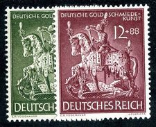 LOTE 1264  ///  (C035) ALEMANIA IMPERIO 1943  MICHEL Nº:860/61   **MNH - Alemania