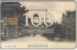MOLDOVA - Aleia Principala, Moldtelecom Telecard 100 Units, Tirage 31750, 12/05, Used - Landschappen