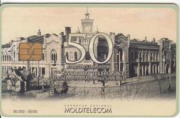 MOLDOVA - Passaj, Moldtelecom Telecard 50 Units, Tirage 30000, 05/05. Used - Landscapes