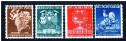 LOTE 1264  ///  (C150) ALEMANIA IMPERIO 1941  MICHEL Nº:768/771  SCOTT: 502/505  NUEVOS SIN GOMA - Alemania