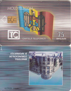 MOLDOVA - Flag, Ministry Of PTT, Moldtelecom Telecard 75 Units, 01/00, Used